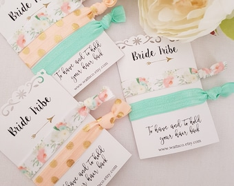 Wedding party favors, party favors Hair Ties/wrist bands