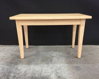 Curly Maple Table
