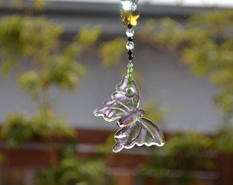 Suncatcher. Beautiful Butterfly.