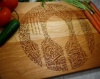 Engraved Cutting Board - Kitchen Decor - Wooden Cutting Boards - Housewarming - Gifts for Mom - Kitchen Gift - Engagement Gift - Cookware