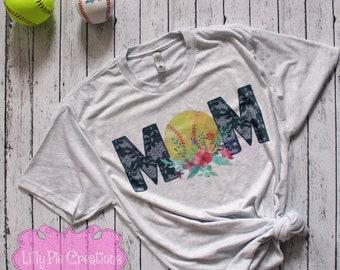Baseball Mom Shirt, Softball Mom Shirt, Baseball Mom Tank, Baseball Mom TShirt, Baseball Mom Tee, Baseball Mom Tank Top, Softball Mom Tank