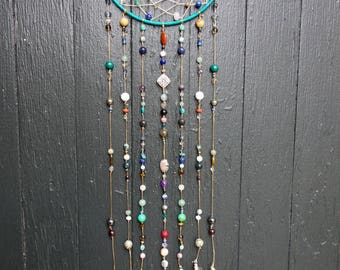 Large Crystal Dreamcatcher charged with reiki
