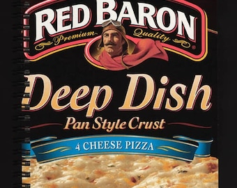 Think Again Notebook- Red Baron Pizza