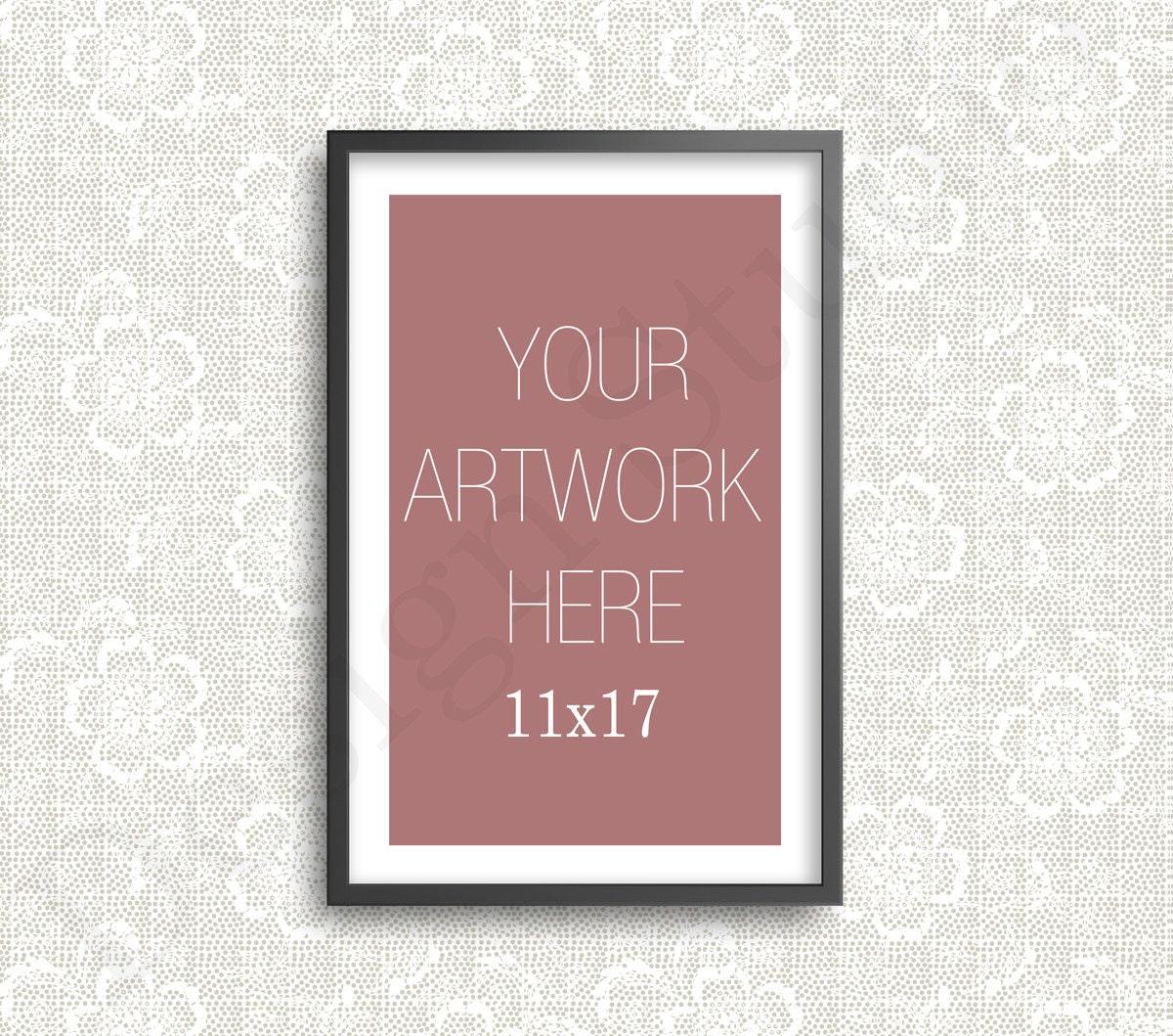 Lujo Marco Negro 11x17 Imágenes - Ideas de Arte Enmarcado ...