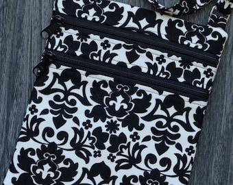 Damask Crossbody purse