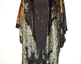 Kimono Fringe Jacket