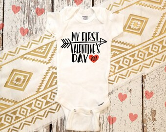 My First Valentine's Day  /  First Valentines / Baby clothes