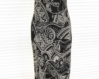 15% OFF! Supercute Summer Dress Size 36 * holiday dress suitcase dress black & white little black dress lbd dot pattern