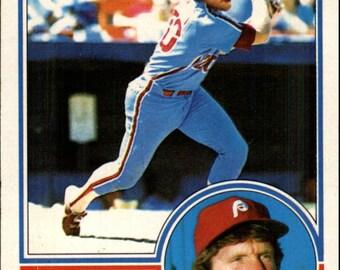 1983 Mike Schmidt #300 O=Pee-Chee