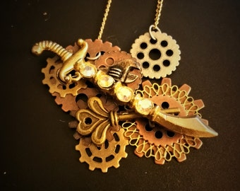 Steampunk Pirate Sword with Jewels