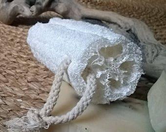Natural loofah sponge/Loofah / sponge exfoliente for the body/Bath/Spa/scrub/SOAP/accessory Spa Bath and shower/Loofah/Loofa rope