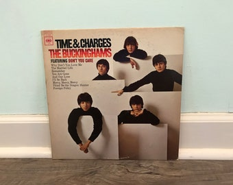 "The Buckinghams ""Time and Charges"" vinyl record"