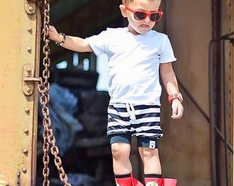 Baby Shorts, baby shorts, kids shorts, beach wear, bummies, bloomers, boys shorts, girls shorts, hip apparel, kids apparel, knit short
