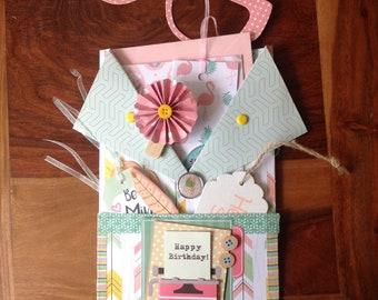 Surprise, envelope clutch surprise, loaded envelope, anniversary gift, happy birthday