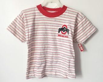 vintage ohio state buckeyes set kids size 6