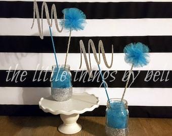Custom Made centerpieces centro de mesa quinceanera sweet 16 baby shower weddings birthdays