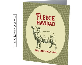 FLEECE NAVIDAD  |  Funny Christmas card