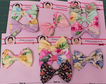 Custom made hair clips to match your any dress order