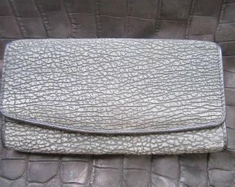 shark  purse pattern trifold wallet
