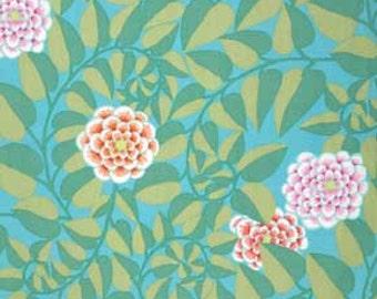 Kaffe Fassett for Rowan and Westminster Fibers - Vine - Duck Egg - 1/2 Yard Cotton Quilt Fabric 516