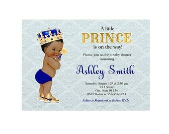Royal prince royal baby shower invitation royal blue baby royal prince baby shower invitations royal prince baby shower royal prince royal baby shower baby shower invitations royal blue shower filmwisefo