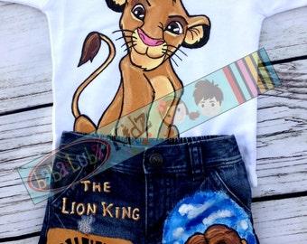 BOYs set Hand painted Custom Boutique jean set size 6 12 18 24 2 3 4 5 6 7 8 9 10 ETSYKIDS