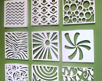 Canvas paper wall art - Deco Original - free shipping