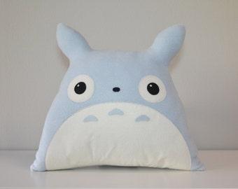 Chu-Totoro Pillow Blue manga anime Kawaii Handmade