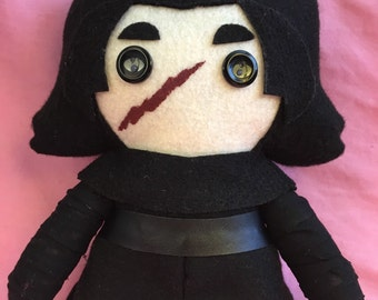Kylo Ren Star Wars TFA Fleece Plush Doll