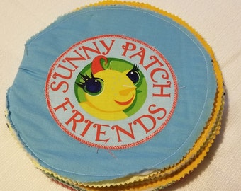 Sunny Patch Friends Cloth Book Panel and Book