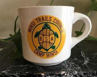 Boy Scouts Camp Minsi | Vintage Mug