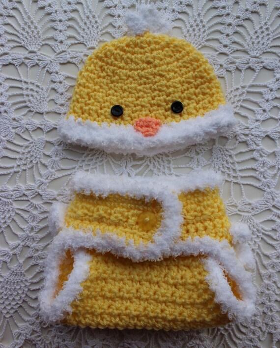 Crochet Hat Pattern Chicken Hat Diaper Cover Crochet