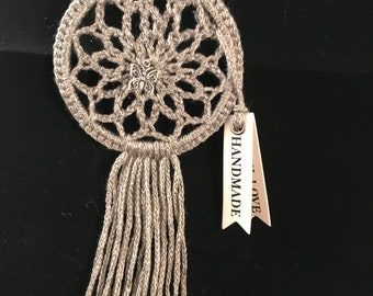 Silver mini Dreamcatcher