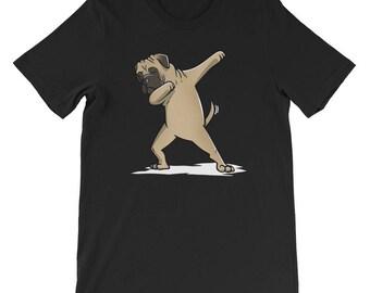 Cute Dabbing Bullmastiff T-Shirt Funny Dog Gift