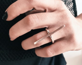Sterling silver ring,bar ring,minimalistic ring,simple ring,design ring,thin ring,ring for women,ring for men,stacking ring,edgy rings