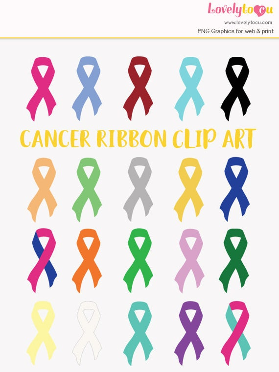 Cancer Support Ribbons Clipart Breast Cancer Prostate Cancer