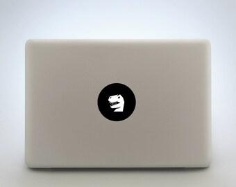 Dinosaur Laptop Sticker