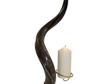 Kudu Horn Candle Holder