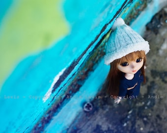 "Tirage simple 10x15cm ""Up"" - Pullip Isul Dal photographie, doll art collection, impression deco no BJD no Blythe"