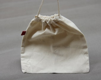 Eco friendly 100% Cotton Drawstring Pouch Bags.