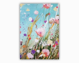G. Greeting card, flower card, art card