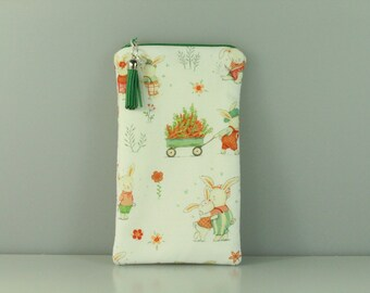 Bunny and Friends Notions Bag/ Purse/ Pouch