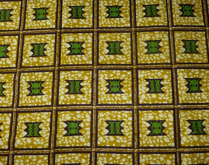 African Cotton Fabrics for Sewing/Craft and Dress Making kitenge Pagnes Sold By The Yard