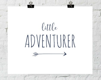 Baby Girl Boy Nursery Decor Adventure Print Little Adventurer Playroom Bedroom Decor Instant Download The Copper Anchor ADOPTION FUNDRAISER