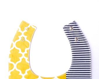 Miminko Baby Bib: Yellow Sunshine