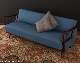 Stylish sofa, couch, 50s, vintage (707023)