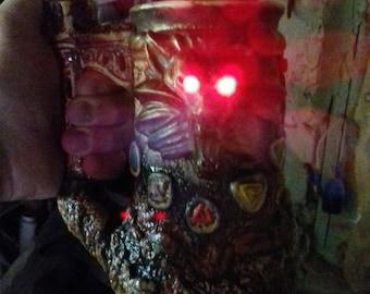 Witcher's mug, ceramic, backlight, The Witcher decor, stoneware, handmade