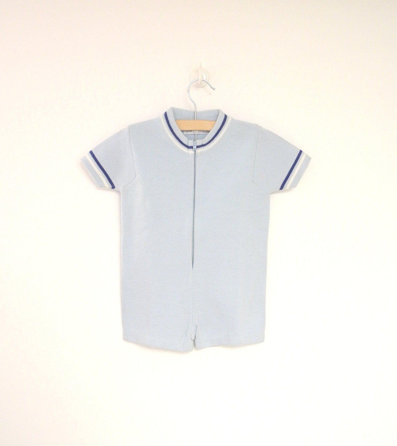 Vintage Baby Clothes 1960 s Saks Fifth Avenue Light Blue