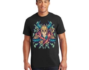 Warrior Goddess Tshirt, Tee, Shirt, Gift for Her, Gift for Him