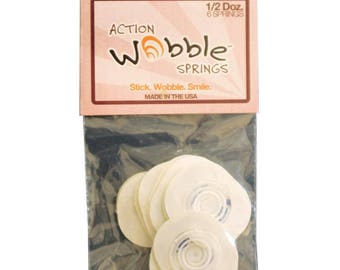Hampton Art Action Wobbles Action Springs package of 6